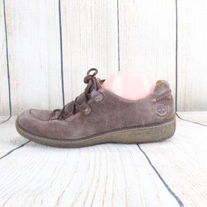 SALE! Timberland Comfort Brown Suede Shoes 10